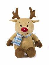 Soft Stuffed Animal Christmas Elk Plush toy Home Decorations Festival Birthday Gift for kids/Brown color toys/funny plush toy