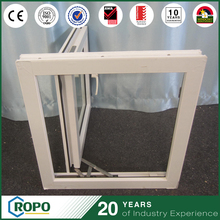 PVC Hurricane Impact Single Pane Hinged Double Glazing Windows