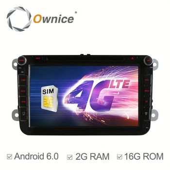 Ownice C500 Android 6.0 system mulitmedia car player for VW Volkswagen Built 4G with GPS Support DVR digital TV