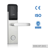 China Manufacturer Durable Hotel Room Card Access Door Lock