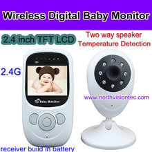 Digital Video Baby Monitor with Nightvision and Two Way talk function