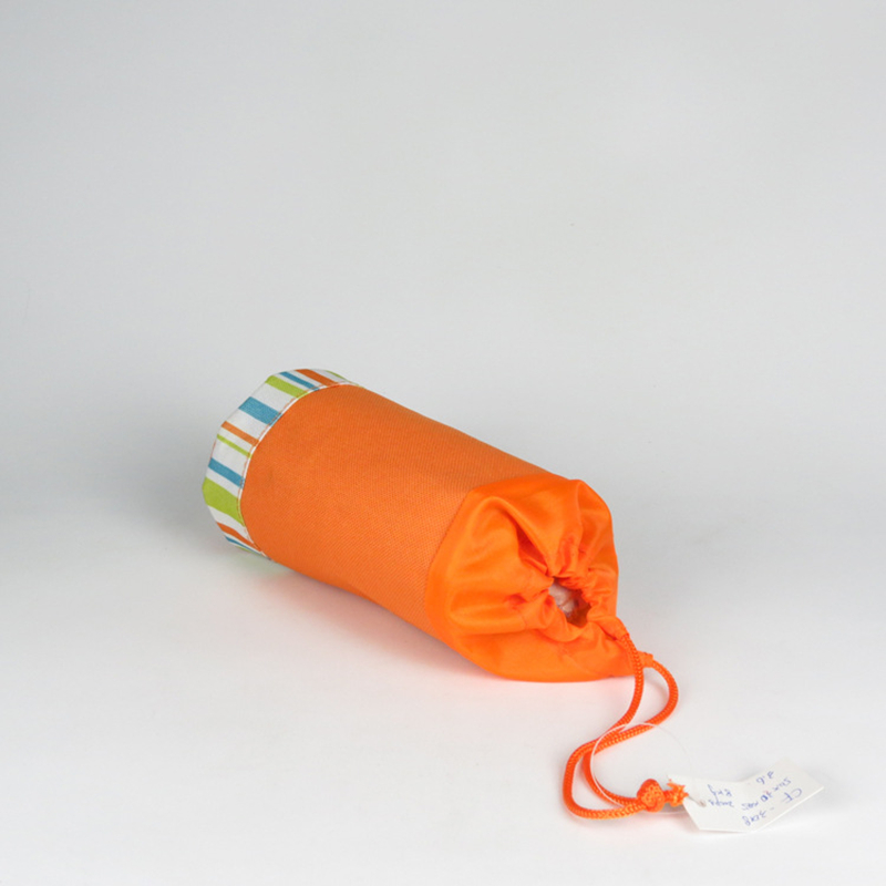Orange customize cooler 500ml bottle bag