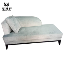 Living Room fabric single reclining sofa bed for home