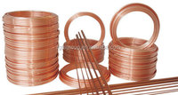 Copper pipe for air conditioner and refrigerator with various sizes