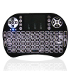 Backlight LED i8 PRO Wireless Gaming Mini Keyboard 2.4G multitouch Touchpad Backlit fly Mouse For Ipad/PS3/XBox/TV Box