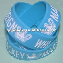 2012 HOT Sale silicone rubber band for promotional