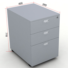 Commercial Furniture Office Furniture 2 drawer mobile pedestal cabinet
