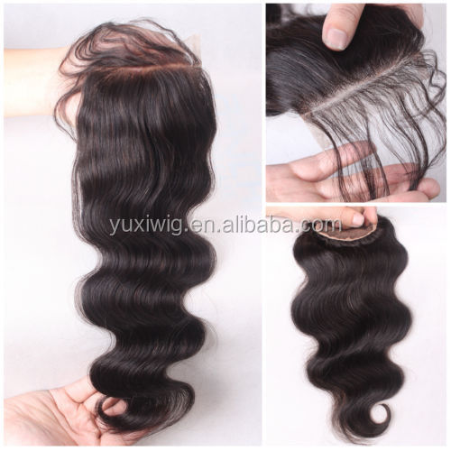Silk Top Closure For Black Woman