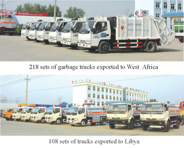 Dongfeng Chassis 6Ton Detachable Container Garbage Collector