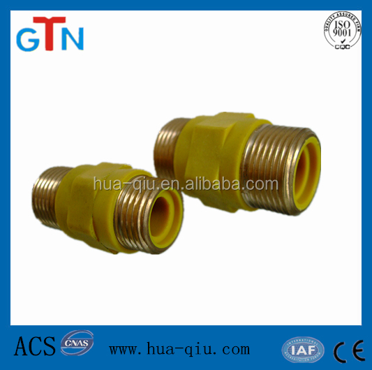 brass pocket hose with brass fittings