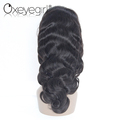 Factory price no chemical brazilian virgin human hair half wig