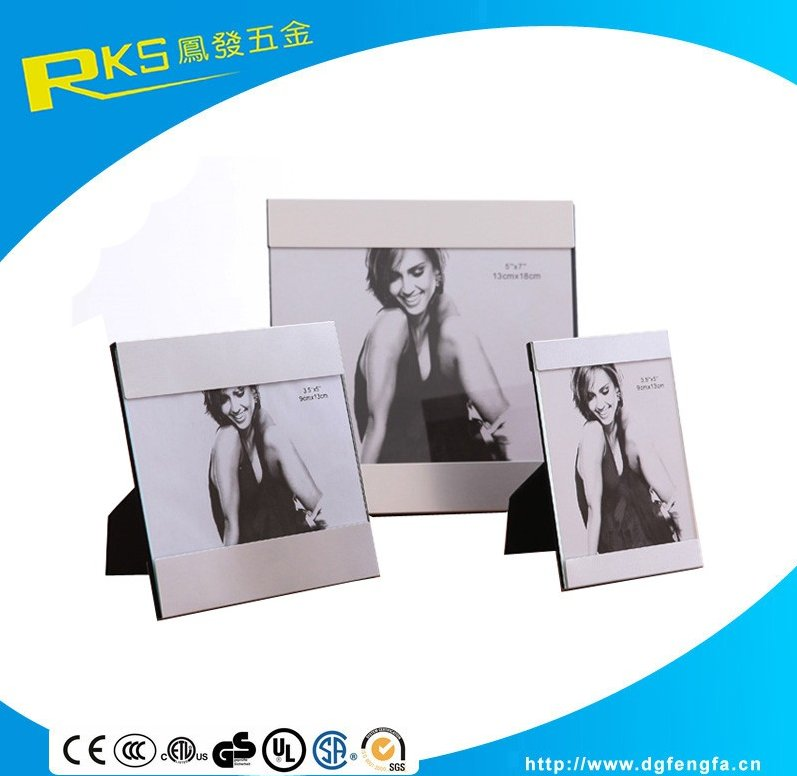 Customize Aluminium Alloy Glass Photo Frame Can Be Printed The LOGO
