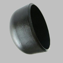 black butt weld carbon steel pipe fitting end cap for gas