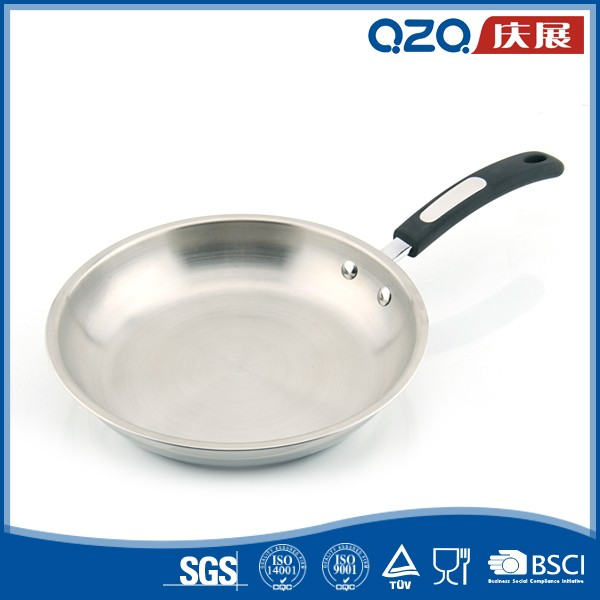 Slip resistant kitchenware pan pot bakelite handle cookware brands