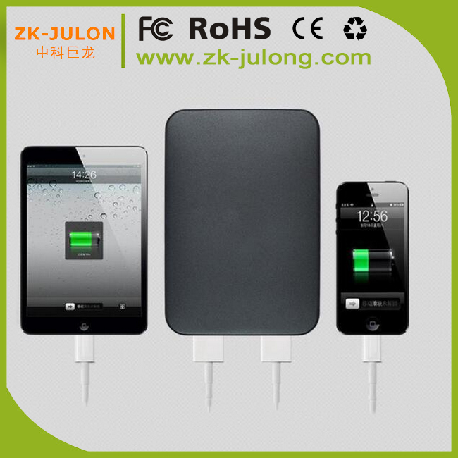 Shenzhen factory supply power bank charger 8000mah external battery for iphone, smartphone