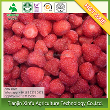 China's frozen IQF strawberry supports strawberry plant