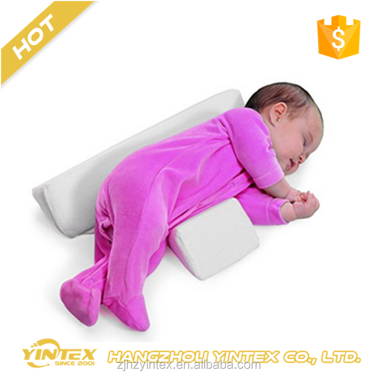 FOLDABLE Safe Lift Universal Crib Wedge pillow for Baby Sleep