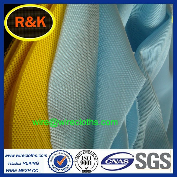 good quality double mesh fabric/3d air mesh