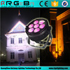 Outdoor use Landscape Light 7x25w RGBWA 5in1 led par can light building decoration