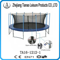 heavy duty fitness equipment 5m jumping trampoline with ladder step ladder