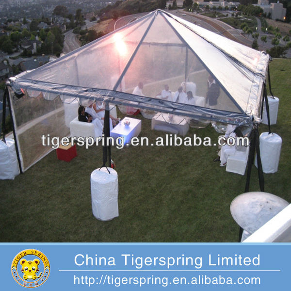 the newest popular clear roof marquee wedding tent