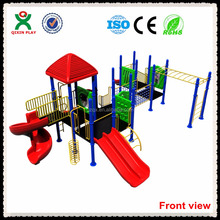 Best seller toddlers outdoor play equipment QX-060A play centre equipment for sale outdoor play area for kids
