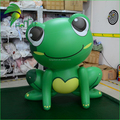 Lovely Cartoon Inflatable Frog Animal Model For Sale