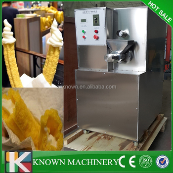 20kg/h Crutch Ice Cream Puffed maker Corn Puffing makinge snacks machine