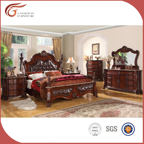 Italian <strong>style</strong> classic solid wood bedroom set <strong>furniture</strong> WA143