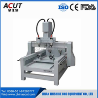 china cnc router machine 8080 4 axis multi spindle 3d cnc router
