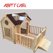 Quality wooden dog kennel dog house