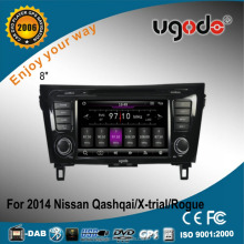 ugode U7 Wince 8inch Qashqai Car Radio DVD Multimedia Player for Qashqai X-trail Rogue