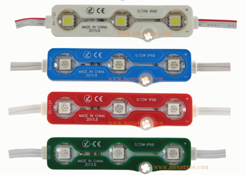 Waterproof IP67 LED channel letter Using DC12V 0.72W/PCS 3SMD 5050 LED Module samsung wellon vp-490 programmer
