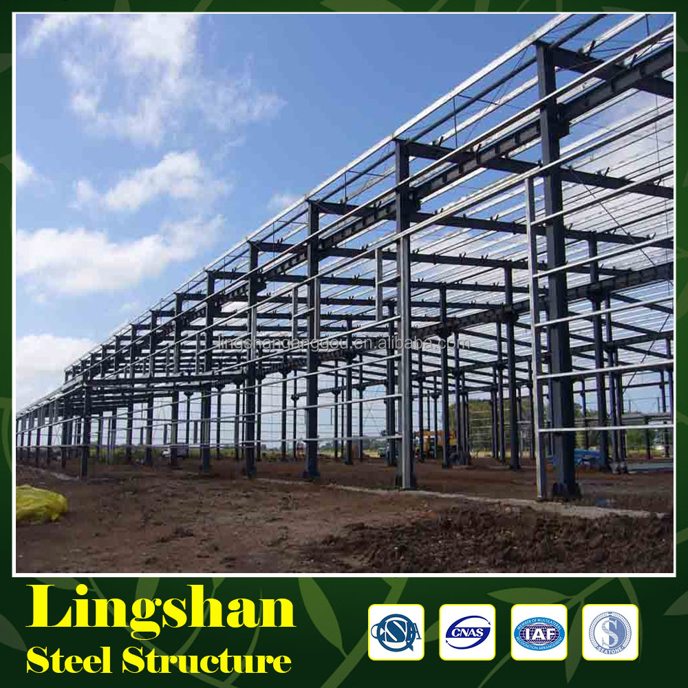 Large Span High Rise Prefabricated Steel Structure Building