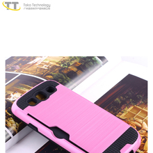 Universal waterproof shockproof hybrid tpu pc hard phone shell case for samsung galaxy s3 armor case
