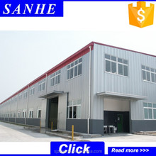 East Standard fast construction wide span prfabricated steel structure buildings