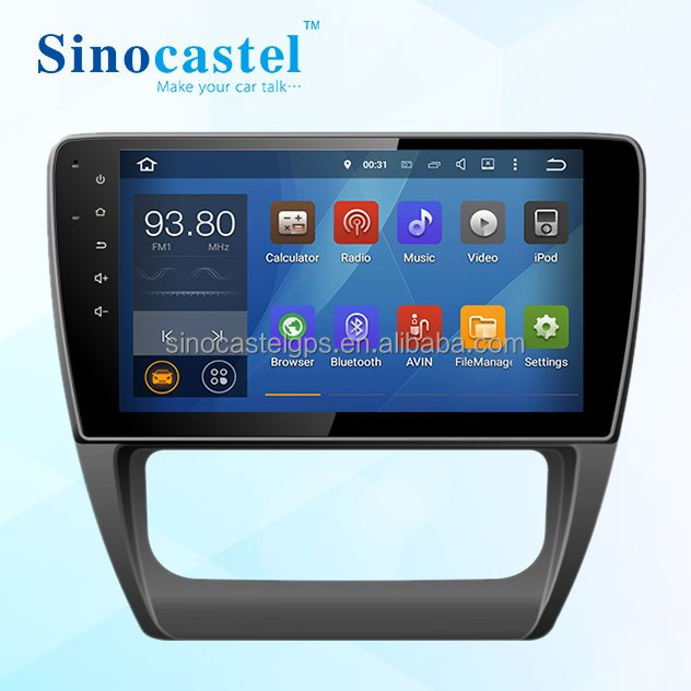 In dash 1 din Android 5.1.1 car dvd player for VW Jetta 2013 with 4 core GPS 4G wifi Dashboard placement car radio