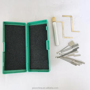 1-13 GOSO lock pick set locksmith tools UESED DIMPLE LOCK PICK SET