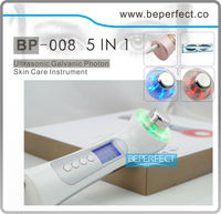 BP008B-best seller 3Mhz ultrasound facial massager with LED Photon and Ions