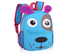 2016 New Fashion 3D Zoo Animals Backpack For Girls Cute Children Kids Bagpack School Backpacks Printing Backpack