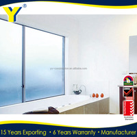 YY factory supplied double glazed thermally broken frames of Aluminium Profile Window/energy efficient sliding window