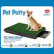 20*25inch synthetic high quality pet zoom/pet park deluxe/potty patch supplier dog pee tray