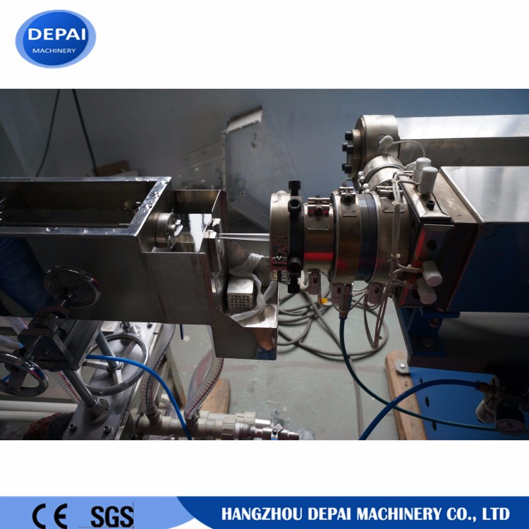 1/2/3 color drinking straw extrusion machine