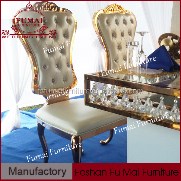 Modern wedding banuqet furniture sliver king throne chair rental for sale
