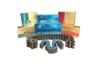 China Manufactured motorcycle Roller Chain/material Roller Chain for agricultural