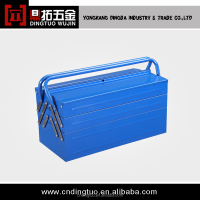 multifuctional hand metal tool box with handle DT-131B