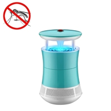 LED Light Efficient 6 LEDs Mosquito Killer Lamp Suction Type USB Port Mute Photo catalyst No Radiation Mosquito Catcher