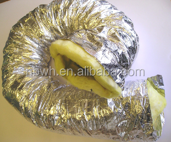 air conditioning aluminum foil polyester insulated flexible duct