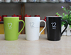Colorfull starbuck shapes tall ceramic coffee mugs