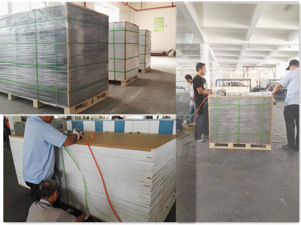 thick pvc plastic sheet white pvc forex sheet